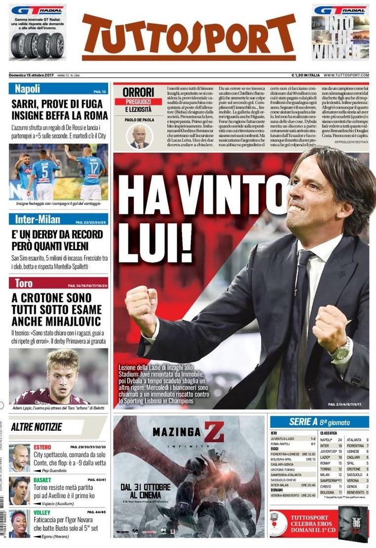 Tuttosport Inzaghi