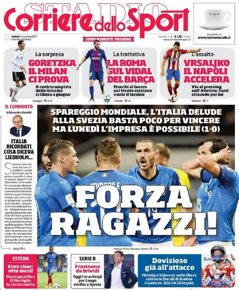 Corriere Sport Forza Ragazzi