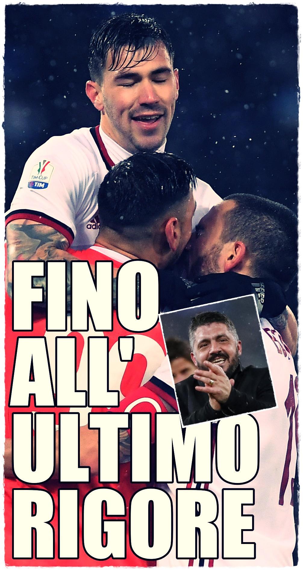 Coppa Italia Semi-final Second Leg - Lazio vs AC Milan