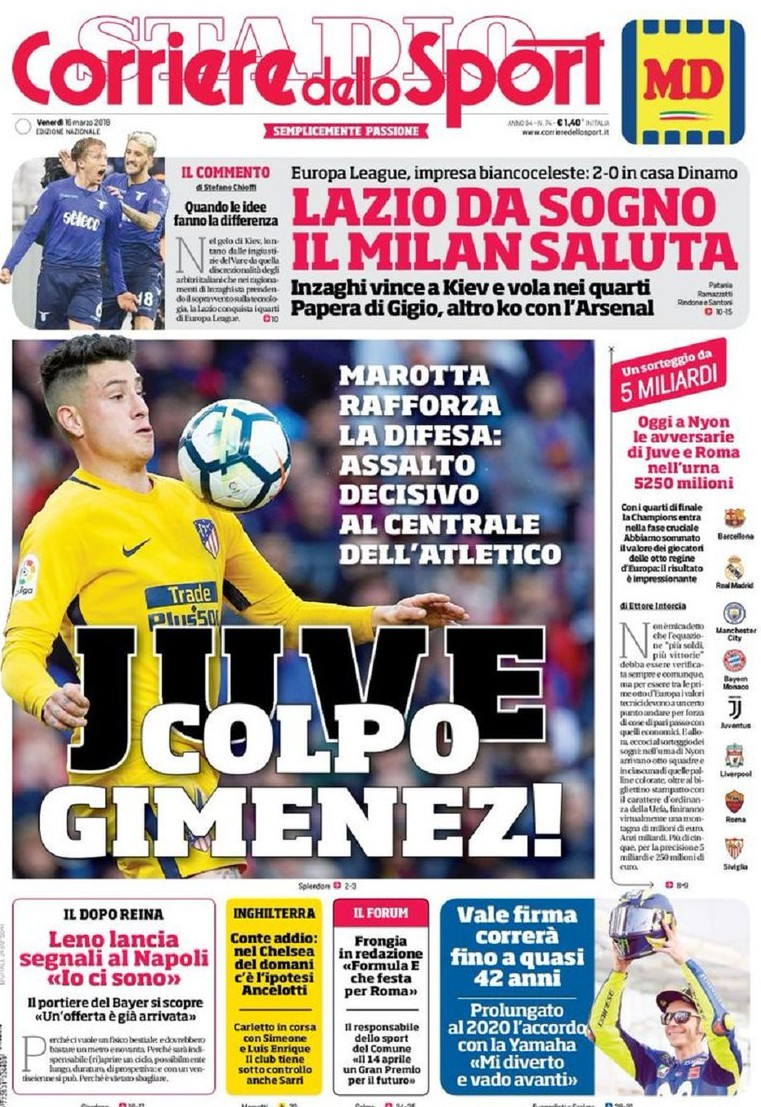 Corriere Gimenez