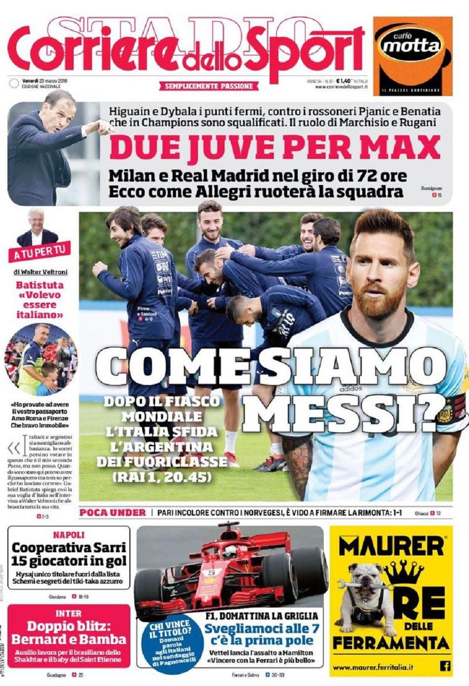 Corriere Messi