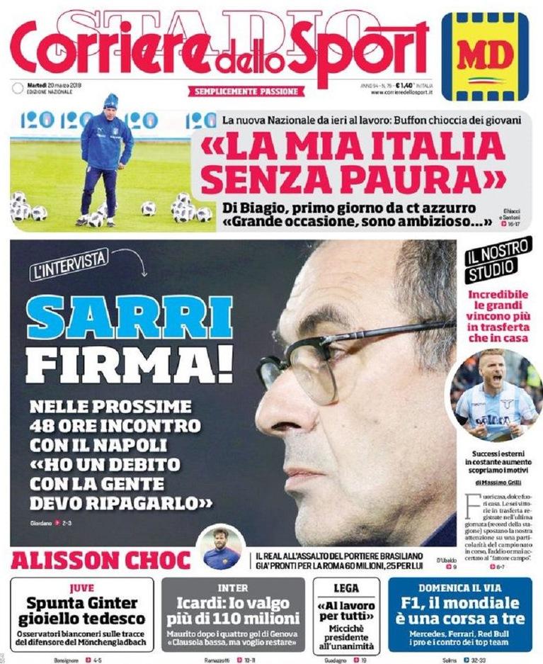 Corriere Sarri