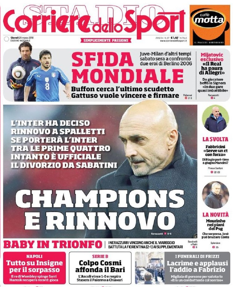 Corriere Spalletti