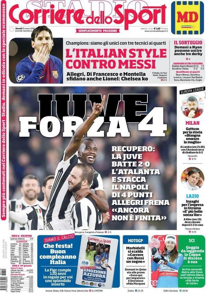 Corriere sport Forza 4