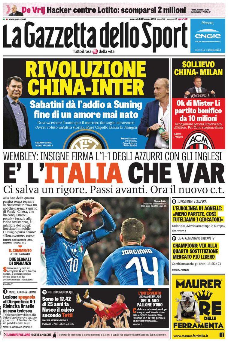 Gazzetta Italia Var