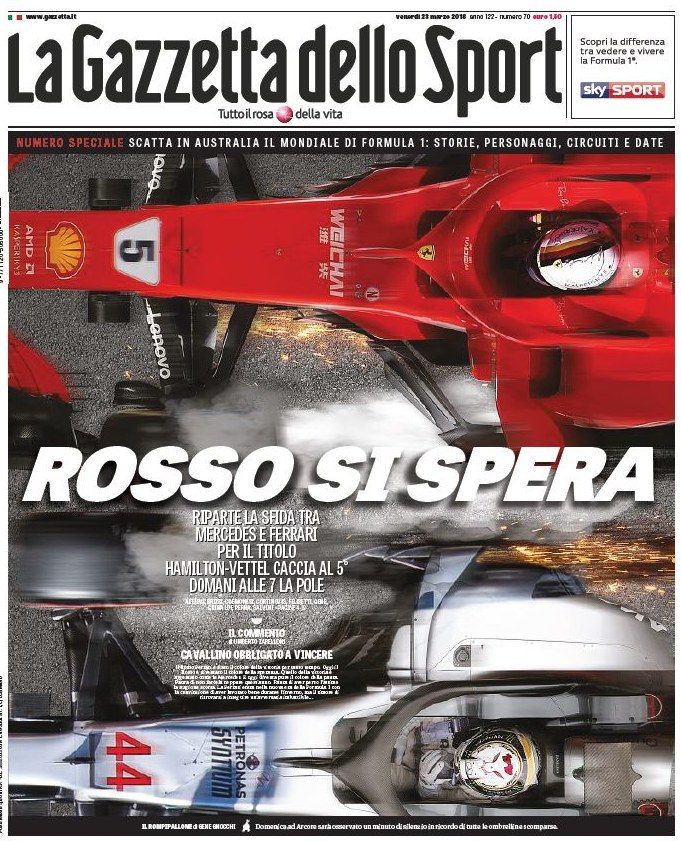 Gazzetta Rossi si spera