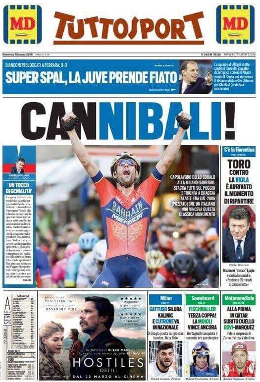 Tuttosport Cannibali