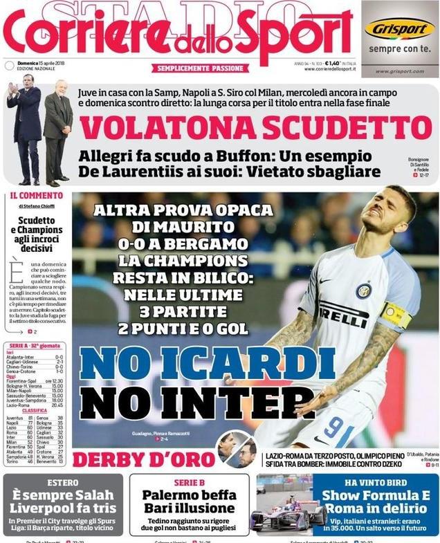 Corriere No Icardi