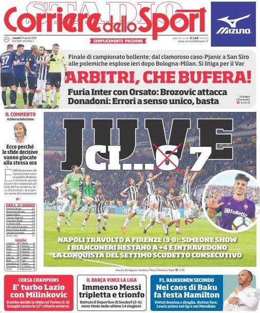Corriere sport Fiorentina Napoli
