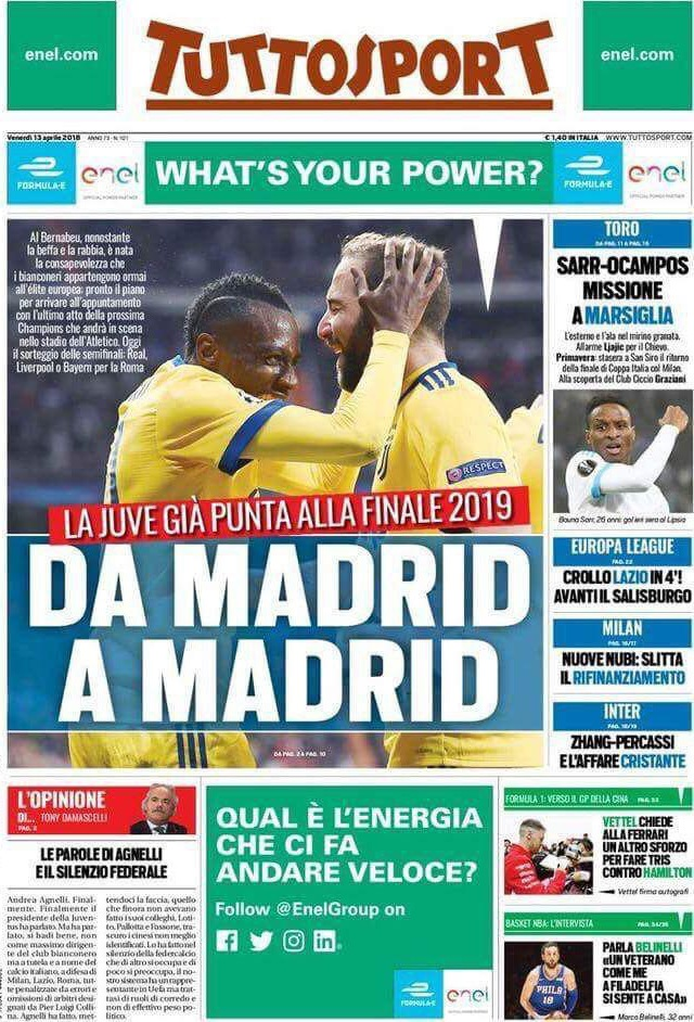 Tuttosport Madrid Madrid