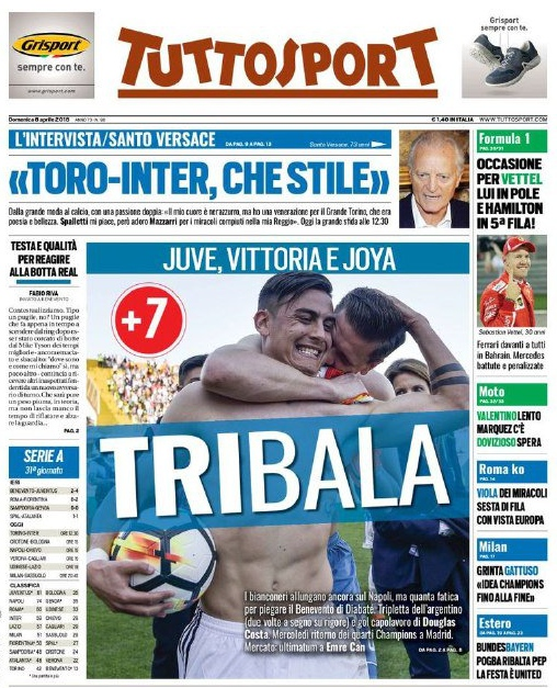 Tuttosport Tribala