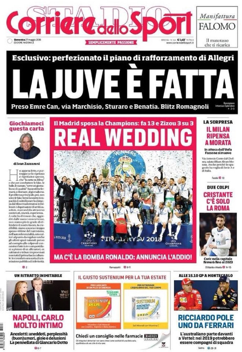Corriere Real Wedding