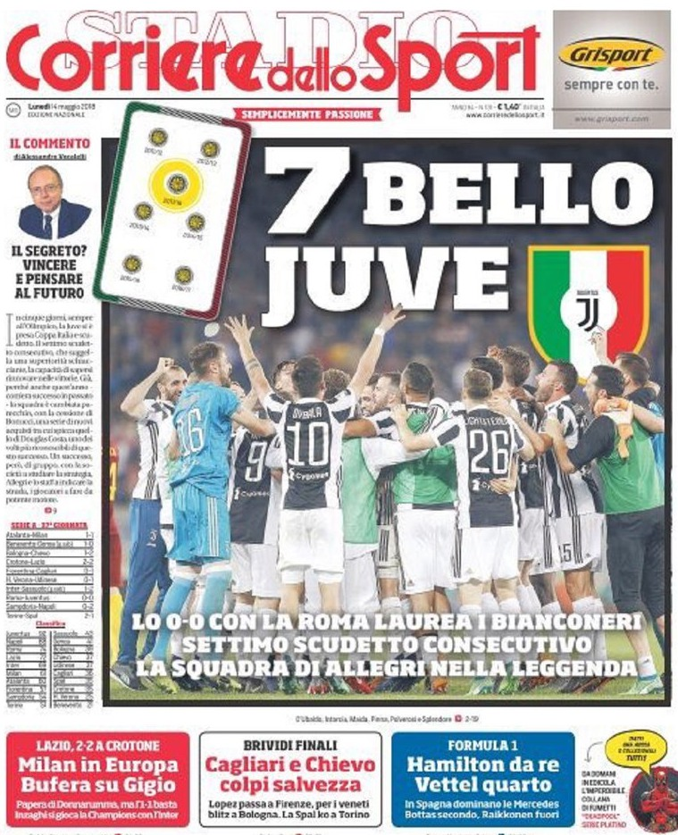 Corriere Sport 7 bello