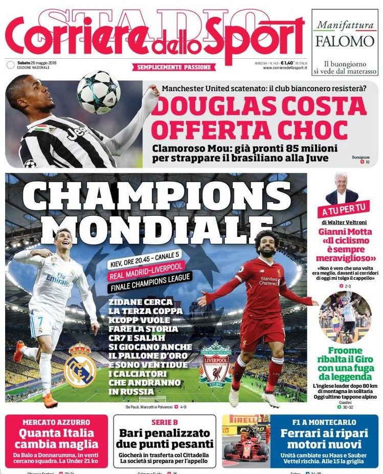 Corriere Sport Champions Mondiale