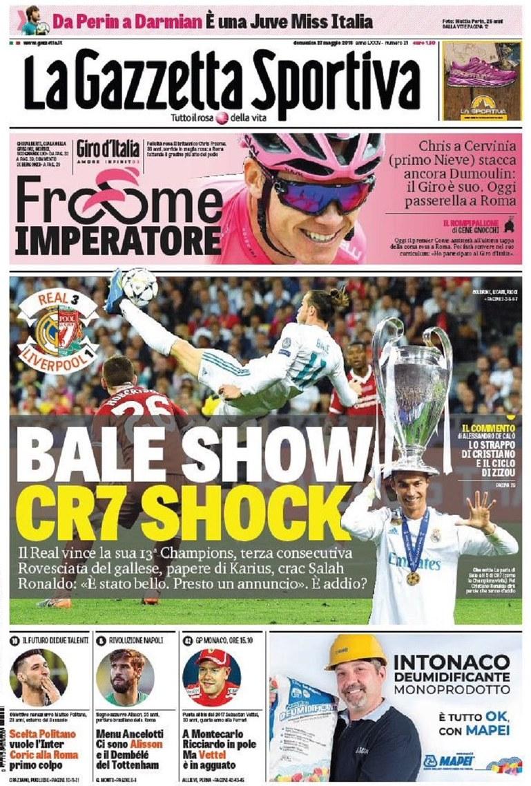 Gazzetta Bale show