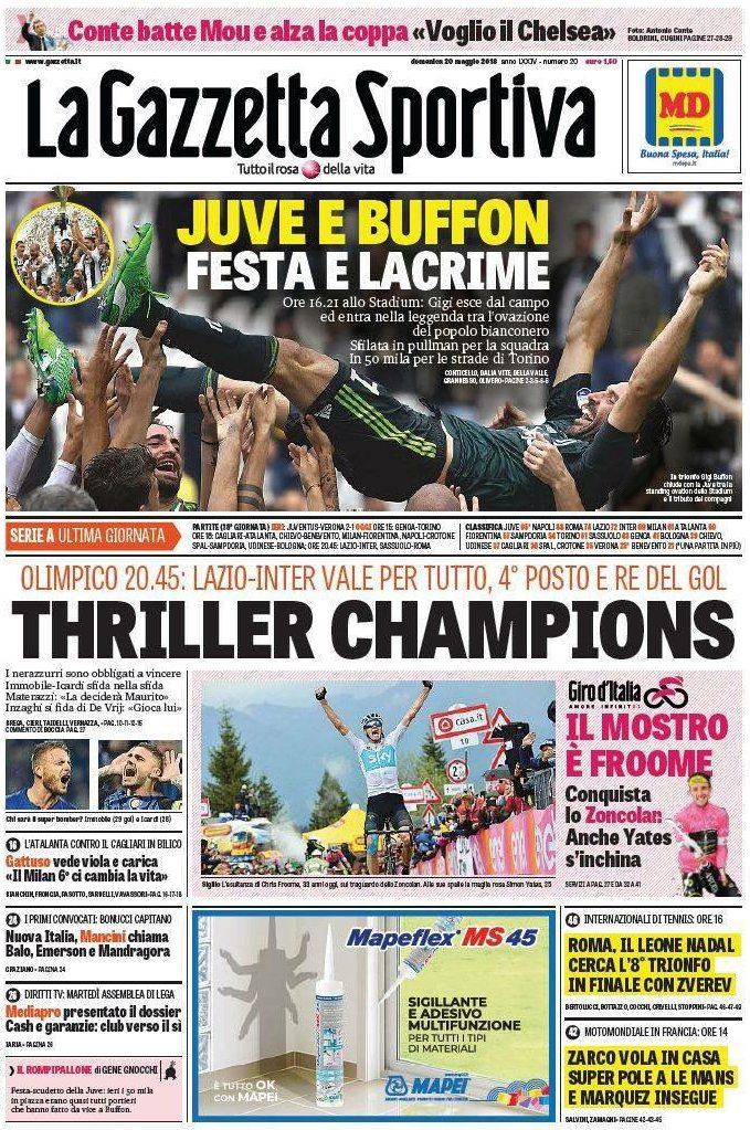 Gazzetta Juve Buffon
