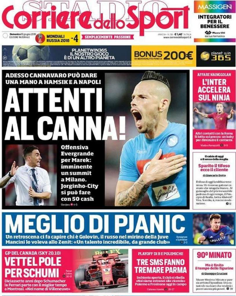 Corriere sport canna