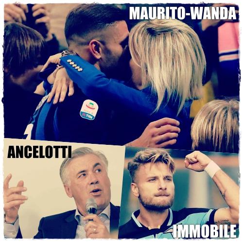 Icardi Ancelotti Immobole