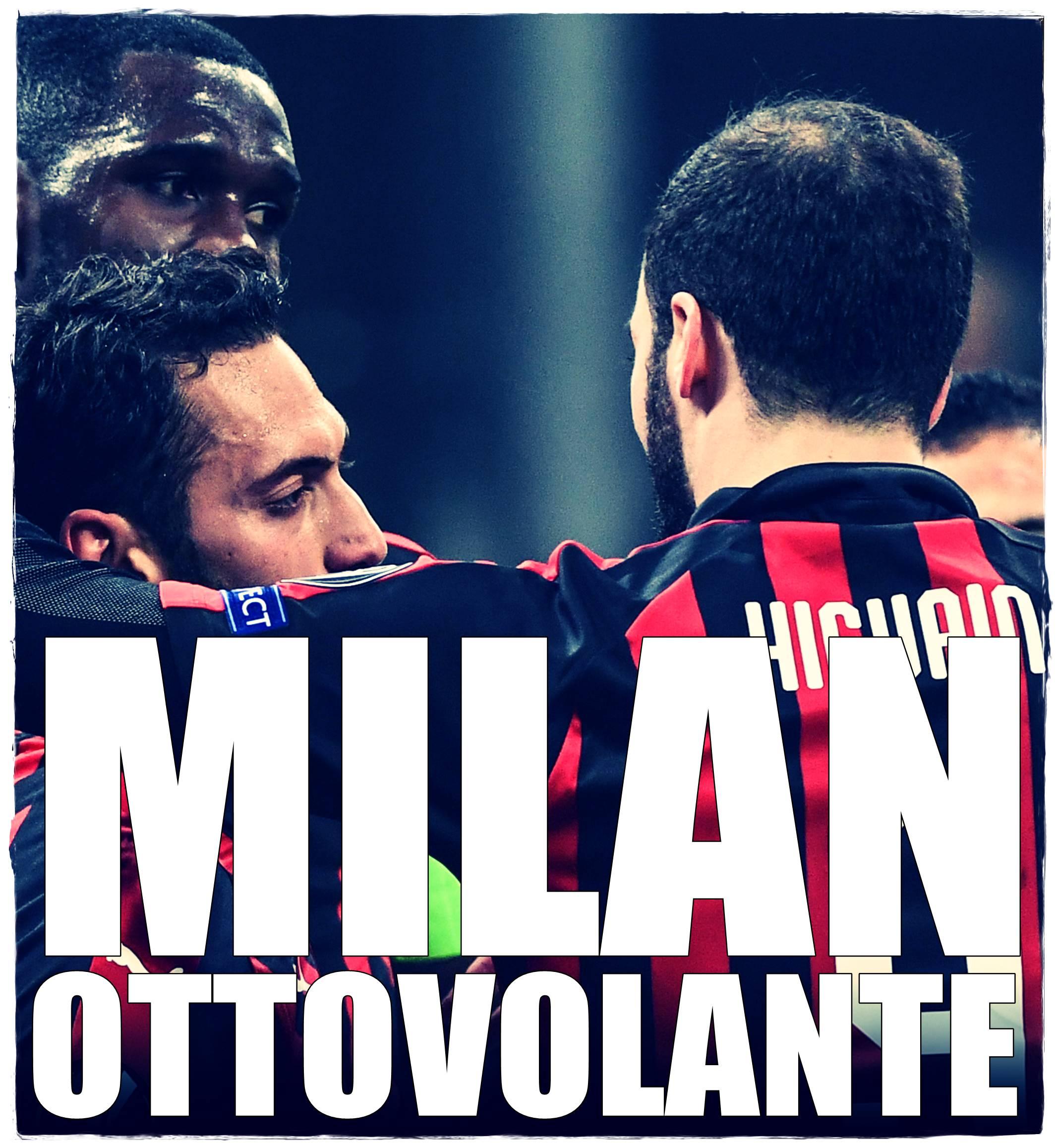 76cb576a02 Non si sa mai quello che può succedere al Milan, squadra degli alti e  bassi. (E con Higuain che non convince). Due domande sull'Inter paurosa di  Londra, ...