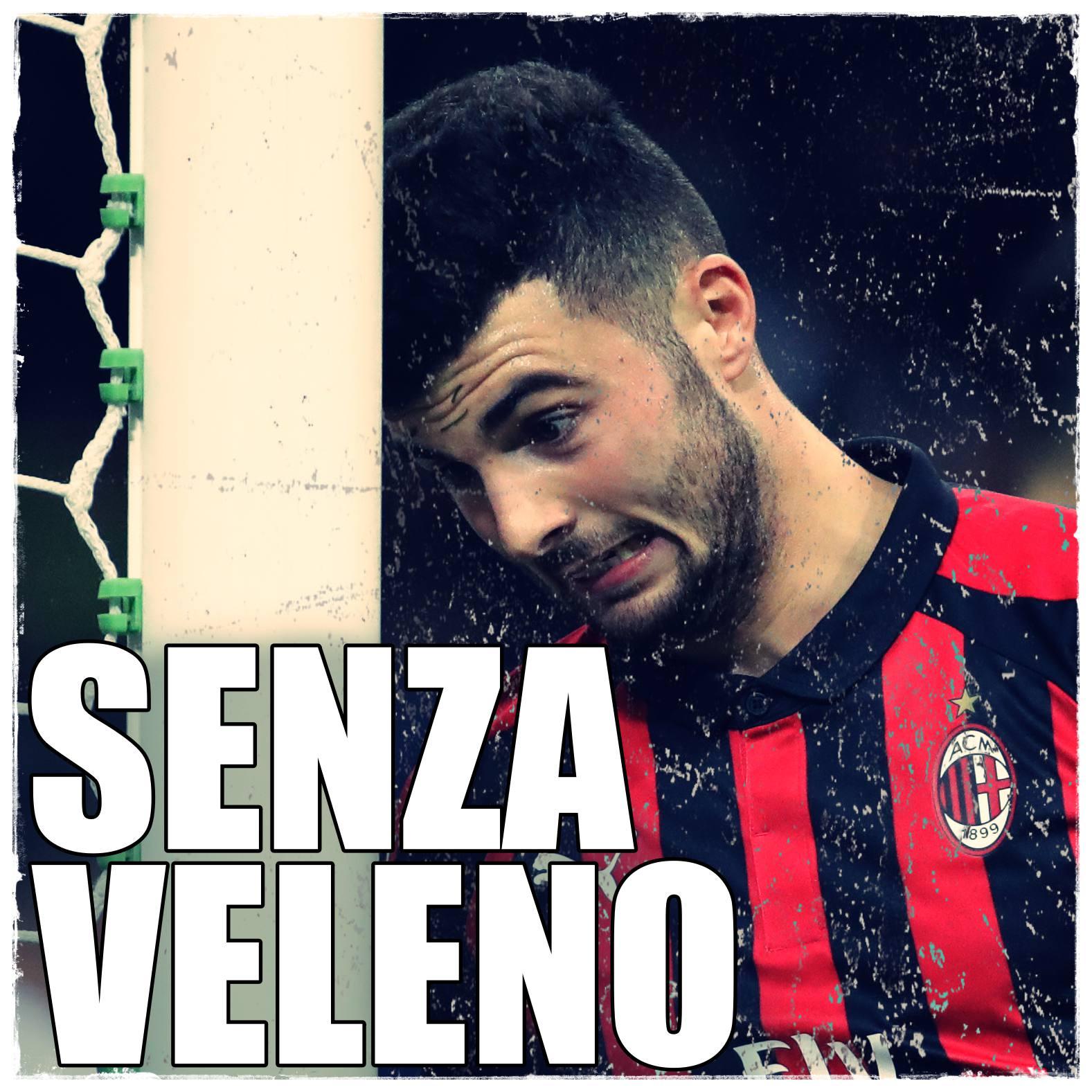 Il Milan lascia benevolmente aperta la lotta per il terzo e