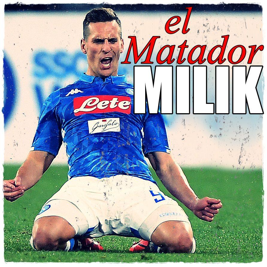 Milik Napoli Lazio 2