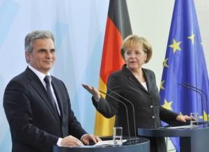 10.05.20 oesterreichischer-bundeskanzler-faymann-im-bundeskanzleramt, Merkel