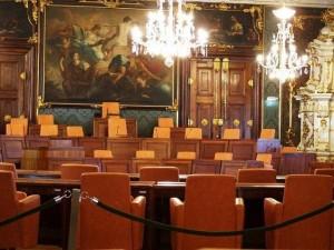 06.04.22 30 Graz; sala del Landtag (consiglio regionale)