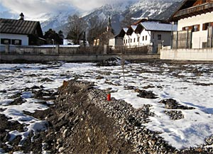 11.01.03 Hall (Tirolo), ospedale regionale, fossa vittime nazisti