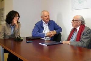 11.04.18 01 Prosecco; Tania Zanuttini, Ferruccio Tassin, Boris Pahor
