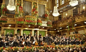 New Year's concert at Vienna's Musikverein