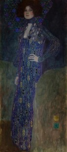 12.01.25 Gustav_Klimt, ritratto di Emilie Flöge