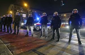 12.01.26 Vienna, forze di polizia per ballo WKR