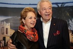 12.08.08 Harald Serafin con la moglie