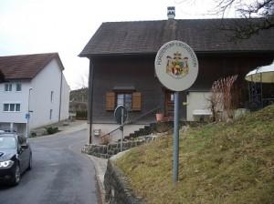 13.01.03 291 Valico di frontiera secondario del Principato del Liechtenstein
