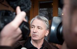 13.02.08 Wolfgang Kulterer nel tribunale di Klagenfurt