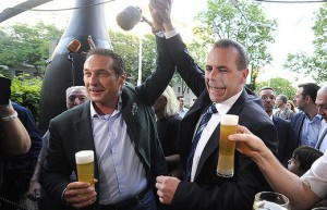 14.05.27 Heinz-Christian Strache e Harlad Vilimsky