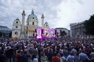14.06.18 Vienna, Popfest nella Karlsplatz - Copia
