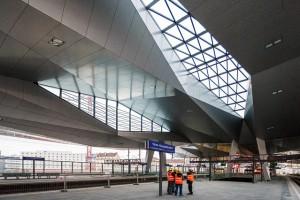 Baustelle Hauptbahnhof Wien
