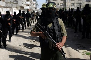 Masked Palestinian Members of Islamic Jihad