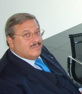 06.10.06 02 Tavagnacco, inaugurazione Hypo Bank; Lorenzo Di Tommaso, Wolfgang Kulterer, interprete