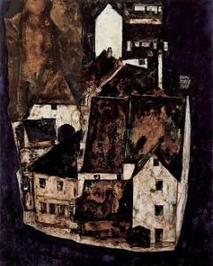 15.08.09 Die tote Stadt III, Egon Schiele - Copia