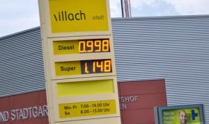 15.08.22 Bistributore carburanti Villach, St. Johanner Strasse (azienda municipale)