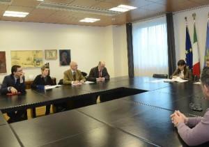 16.03.22 Udine, incontro Serracchiani con sindacati su Hypo Bank