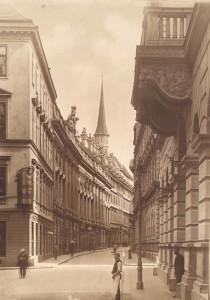 16.07.20 Vienna, Herrengasse prima del 1913 - Copia