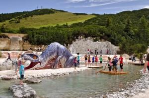 Triassic Park Steinplatte Waidring
