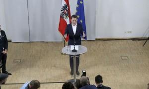 17.05.14 Sebastian Kurz dopo la designazione a segretario Oevp