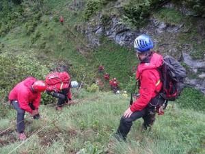 17.06.07 Eisenerzer Reichenstein, soccorso alpinisti precipitati 4 - Copia