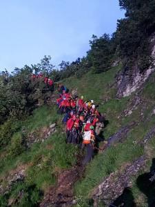 17.06.07 Eisenerzer Reichenstein, soccorso alpinisti precipitati 6