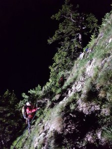 17.06.07 Eisenerzer Reichenstein, soccorso alpinisti precipitati 8