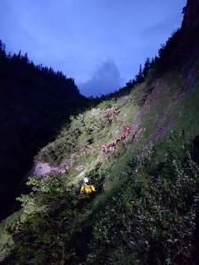 17.06.07 Eisenerzer Reichenstein, soccorso alpinisti precipitati 9